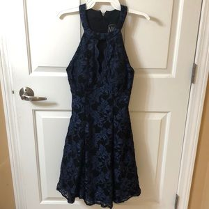 Navy Sparkly Dress